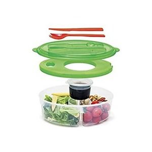 New Inovia Imports II-136 6 pc Lunch Box Salad Container